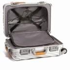 Tumi 19 Degree International Carry On 56cm 4Rollen Texture Silver, Farbe: grau, Marke: Tumi, EAN: 742315534688, Abmessungen in cm: 35.5x56.0x23.0, Bild 4 von 6