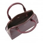 AIGNER Ivy Handtasche 133424 Bordeaux, Farbe: rot/weinrot, Manufacturer: Aigner, Dimensions (cm): 34.0x28.0x10.0, Image 3 of 3