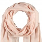 Passigatti Baumwolle Schal Pailletten Puder, Farbe: rosa/pink, Marke: Passigatti, EAN: 4046124007613, Abmessungen in cm: 180.0x50.0, Bild 2 von 2