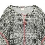 Passigatti Tunika Azteken-Stil Schwarz, Farbe: schwarz, Marke: Passigatti, EAN: 4046124007835, Abmessungen in cm: 105.0x80.0, Bild 2 von 2