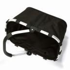 Reisenthel Carrybag BK., Farbe: schwarz, anthrazit, grau, blau/petrol, braun, cognac, taupe/khaki, grün/oliv, rot/weinrot, flieder/lila, orange, gelb, beige, weiß, metallic, bunt, Marke: Reisenthel, Abmessungen in cm: 48.0x29.0x28.0, Bild 3 von 5