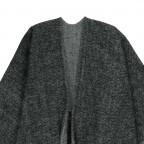 Passigatti Cape Acryl Weaved Schwarz, Farbe: schwarz, Marke: Passigatti, EAN: 4046124015045, Abmessungen in cm: 120.0x180.0, Bild 2 von 2