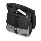 Dakine Lola Crossbag Pixie Grey Black, Marke: Dakine, EAN: 0610934088076, Abmessungen in cm: 24.0x28.0x9.0, Bild 2 von 3