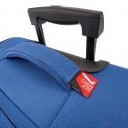 Travelite Cabin 2-Rad Bordtrolley 55cm Rot, Farbe: rot/weinrot, Marke: Travelite, Abmessungen in cm: 40.0x55.0x20.0, Bild 5 von 5