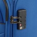 Travelite Cabin 2-Rad Bordtrolley 55cm Schwarz, Farbe: schwarz, Marke: Travelite, Abmessungen in cm: 40.0x55.0x20.0, Bild 4 von 5