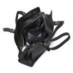 Adax Sorano 250294 Kleiner Shopper Black, Farbe: schwarz, Marke: Adax, EAN: 5705483183848, Abmessungen in cm: 33.0x20.0x9.0, Bild 3 von 3
