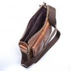 Strellson Blake Shoulder Bag S Cognac, Farbe: cognac, Marke: Strellson, EAN: 4053533279463, Abmessungen in cm: 28.0x31.0x5.5, Bild 4 von 4