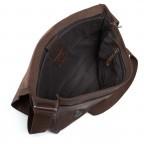 Strellson Upminster Messenger LH Dark Brown, Farbe: braun, Manufacturer: Strellson, EAN: 4053533404216, Dimensions (cm): 40.0x32.0x10.0, Image 3 of 4