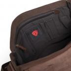 Strellson Upminster Messenger LH Dark Brown, Farbe: braun, Marke: Strellson, EAN: 4053533404216, Abmessungen in cm: 40.0x32.0x10.0, Bild 4 von 4