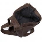 Strellson Upminster Messenger MV Dark Brown, Farbe: braun, Marke: Strellson, EAN: 4053533404285, Abmessungen in cm: 30.0x31.0x8.0, Bild 3 von 4