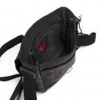 Strellson Upminster Messenger SV Black, Farbe: schwarz, Marke: Strellson, EAN: 4053533404377, Abmessungen in cm: 20.0x23.0x6.0, Bild 3 von 4