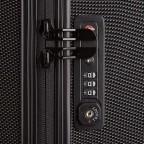Loubs Tech Spinner-Trolley 4 Rollen S 57cm Schwarz, Farbe: schwarz, Marke: Loubs, Abmessungen in cm: 36.0x57.0x20.0, Bild 4 von 5