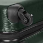 Loubs Trolley 4-Rollen Brisbane 55cm Dunkelgrün, Farbe: grün/oliv, Marke: Loubs, Abmessungen in cm: 40.0x55.0x20.0, Bild 4 von 5