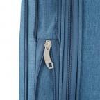 LOUBS Trolley Townsville 76cm Jeansblau, Farbe: blau/petrol, Marke: Loubs, Abmessungen in cm: 47.0x76.0x30.0, Bild 4 von 6