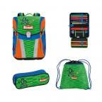 Scout Sunny Schulranzen-Set 4-tlg. Street Soccer, Farbe: grün/oliv, Marke: Scout, Abmessungen in cm: 30.0x39.0x20.0, Bild 1 von 8