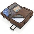 Travelite Basic Doppeldeckertrolley Reisetasche 94l 78cm Braun, Farbe: braun, Marke: Travelite, Abmessungen in cm: 40.0x78.0x30.0, Bild 2 von 2