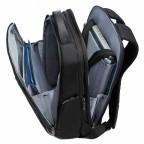 "Samsonite Spectrolite 55695 Laptop Bachpack 17.3"" Black, Farbe: schwarz, Manufacturer: Samsonite, Image 3 of 6"