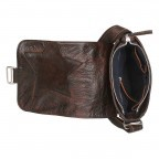 Bull & Hunt Speed Tasche Waxed-Brown, Farbe: braun, Manufacturer: Bull & Hunt, Dimensions (cm): 21.0x23.0x7.0, Image 4 of 4