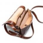 Assima Handtasche Überschlag Vacchettaleder S Cognac, Farbe: cognac, Marke: Assima, Abmessungen in cm: 21.0x15.0x10.0, Bild 4 von 4