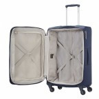 Samsonite Base Hits 59144 Spinner 66 Expandable Navy Blue, Farbe: blau/petrol, Marke: Samsonite, Bild 2 von 6