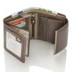 HJP Geldbörse Tinta Braun, Farbe: braun, Marke: Hausfelder, Abmessungen in cm: 13.0x10.5x2.0, Bild 6 von 7