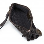 HARBOUR2nd Clutch Lillen Dark Ash, Farbe: anthrazit, Marke: Harbour 2nd, Abmessungen in cm: 23.0x13.0x2.0, Bild 3 von 3