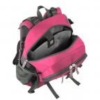 Loubs Rucksack Mountain Pink, Farbe: rosa/pink, Marke: Loubs, Abmessungen in cm: 28.0x46.0x21.0, Bild 2 von 3