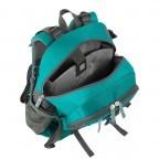 Loubs Rucksack Mountain Türkis, Farbe: blau/petrol, Marke: Loubs, Abmessungen in cm: 28.0x46.0x21.0, Bild 3 von 4