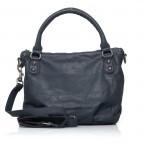LIEBESKIND Vintage Gina 6 Shopper Dark Blue, Farbe: blau/petrol, Marke: Liebeskind Berlin, EAN: 4051436837537, Abmessungen in cm: 33.0x25.0x12.0, Bild 4 von 4