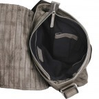 Bull & Hunt Twenty Five Kuriertasche Grey Stripe, Farbe: grau, Manufacturer: Bull & Hunt, Dimensions (cm): 25.0x31.0x11.0, Image 4 of 4