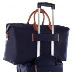 Brics X-Travel 2 in 1 Reisetasche Kurzgriff BXL30202 Blau, Farbe: blau/petrol, Marke: Brics, Abmessungen in cm: 55.0x32.0x20.0, Bild 5 von 5