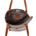 Brics X-Bag 3 in 1 Shopper L BXG35070 Taupe, Farbe: taupe/khaki, Marke: Brics, Abmessungen in cm: 35.0x34.0x15.0, Bild 3 von 5