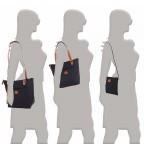Brics X-Bag 3 in 1 Shopper M BXG35071 Schwarz, Farbe: schwarz, Marke: Brics, Abmessungen in cm: 26.0x27.0x15.0, Bild 5 von 5