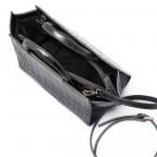 Cavalli Regina-4 Tasche Leder Black, Farbe: anthrazit, Marke: Cavalli, Abmessungen in cm: 23.0x19.0x12.0, Bild 4 von 4