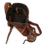 HARBOUR2nd Crossbag Selma Cognac, Farbe: cognac, Manufacturer: Harbour 2nd, Dimensions (cm): 19.0x20.0x3.0, Image 3 of 3