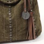 SURI FREY Nelly Tasche Canvas Khaki, Farbe: taupe/khaki, Marke: Suri Frey, Abmessungen in cm: 27.0x27.0x8.0, Bild 5 von 7