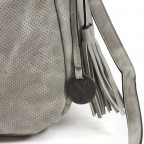 SURI FREY Romy 10145 Beutel M Reißverschluss I Light Grey, Farbe: grau, Marke: Suri Frey, Abmessungen in cm: 34.0x29.0x13.0, Bild 5 von 6