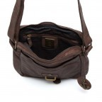 HARBOUR2nd Crossbag Urd Brown, Farbe: braun, Marke: Harbour 2nd, Abmessungen in cm: 20.5x24.0x5.0, Bild 4 von 5