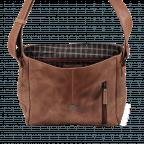 Portobello Crossbag T2.P151 Cognac, Farbe: cognac, Marke: Portobello, EAN: 4046478021488, Abmessungen in cm: 24.0x25.0x7.0, Bild 4 von 5