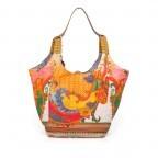 Anokhi Cheyenne Canvas Espandrilles Indish Rose, Farbe: orange, bunt, Marke: Anokhi, Abmessungen in cm: 30.0x35.0x27.0, Bild 1 von 4