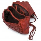 HARBOUR2nd Rucksack Selene Red, Farbe: rot/weinrot, Manufacturer: Harbour 2nd, Dimensions (cm): 25.0x30.0x10.0, Image 4 of 4