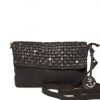 HARBOUR 2nd Clutch Loa Dark Ash, Farbe: anthrazit, Marke: Harbour 2nd, Abmessungen in cm: 28.5x19.0x3.0, Bild 1 von 4