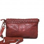 HARBOUR 2nd Clutch Loa Red, Farbe: rot/weinrot, Marke: Harbour 2nd, Abmessungen in cm: 28.5x19.0x3.0, Bild 3 von 4