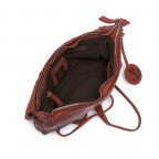 HARBOUR 2nd Clutch Loa Red, Farbe: rot/weinrot, Marke: Harbour 2nd, Abmessungen in cm: 28.5x19.0x3.0, Bild 4 von 4