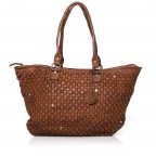 HARBOUR2nd Shopper Malea Cognac, Farbe: cognac, Marke: Harbour 2nd, Abmessungen in cm: 48.0x31.5x13.0, Bild 1 von 4