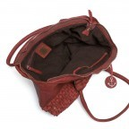 HARBOUR2nd Shopper Mia Red, Farbe: rot/weinrot, Marke: Harbour 2nd, Abmessungen in cm: 49.0x30.0x14.5, Bild 4 von 4