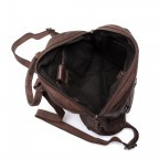 HARBOUR2nd Rucksack Gudrun Brown, Farbe: braun, Manufacturer: Harbour 2nd, Dimensions (cm): 35.0x28.0x8.0, Image 4 of 5