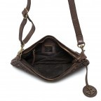 HARBOUR2nd Clutch Yssa Brown, Farbe: braun, Marke: Harbour 2nd, Abmessungen in cm: 29.0x15.5x2.0, Bild 3 von 4