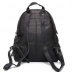 LIEBESKIND Vintage Lotta Rucksack Black, Farbe: schwarz, Marke: Liebeskind Berlin, EAN: 4051436833218, Abmessungen in cm: 26.0x32.0x11.0, Bild 6 von 6