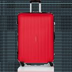 Travelite Uptown 4-Rad Trolley 75cm Rot, Farbe: rot/weinrot, Marke: Travelite, Abmessungen in cm: 52.0x75.0x31.0, Bild 1 von 3